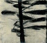 Untitled, 2005, charcoal on paper, 19,5x22cm