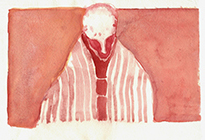 Untitled, 2011, watercolor on paper, 14,9x21,2cm