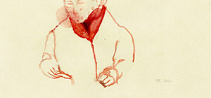 Untitled, 2011, watercolor on paper, 10x21cm