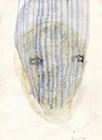 Untitled, 2013, mixed media on paper, 21x15,5cm